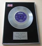 DEAN MARTIN - Volare Platinum single presentation Disc